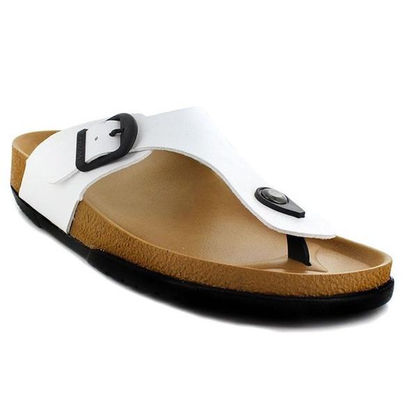 5c737079cc1 Aerosoft White Comfortable Footwear Sandals HL1202